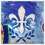 Motiv ~ Lilien Graffiti