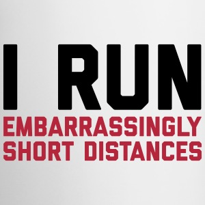 Run Short Distances Funny Quote Muggar & tillbehör - Mugg
