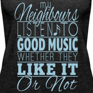 Listen to music TankTop - Women's Premium Tank Top