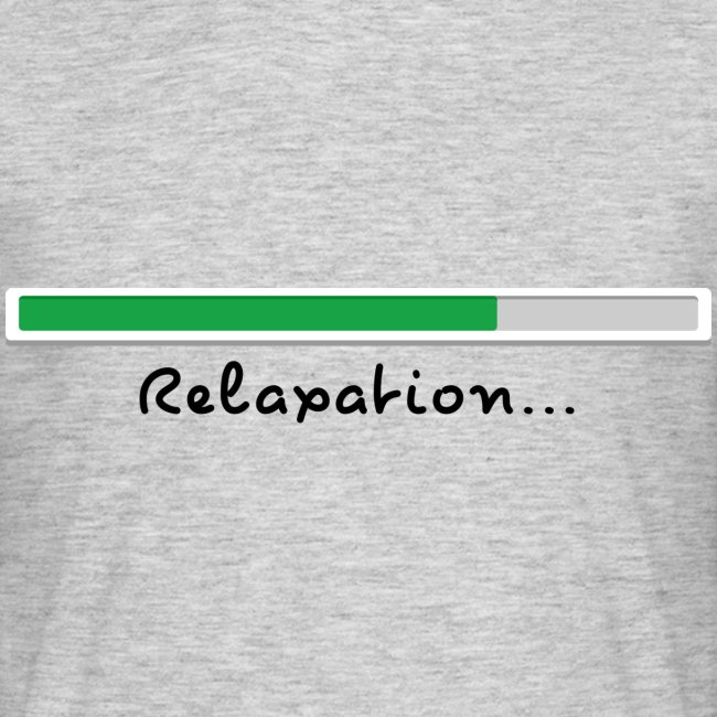T-shirt green Relaxing for men