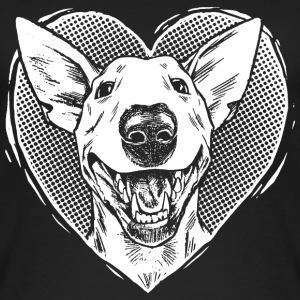 Bull Terrier Love - Frauen Bio Tank Top