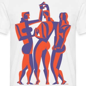 The Three Graces - Men's T-Shirt