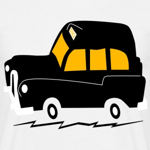 London Black cab taxi - Men's T-Shirt