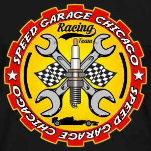 Racing Team 09 Tee shirts - T-shirt contraste Homme