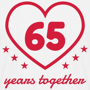 65 - Birthday Wedding - Marriage - Love T-shirts - T-shirt herr
