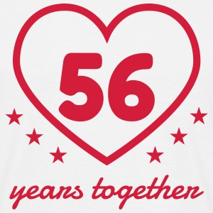 56 - Birthday Wedding - Marriage - Love T-Shirts - Männer T-Shirt