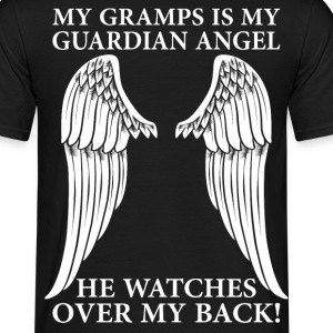 My Gramps Is My Guardian Angel T-Shirts - Men's T-Shirt