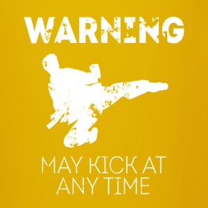 Warning May kick at any time Taekwondo T-shirt Mugs & Drinkware - Full Colour Mug