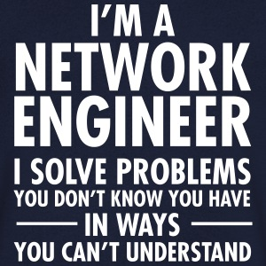 I'm A Network Engineer - I Solve Problems... T-shirts - T-shirt med v-ringning herr