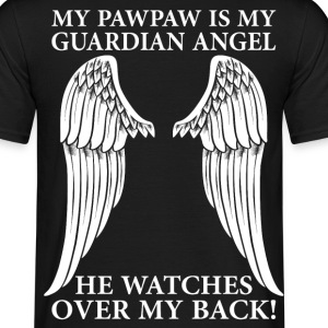 My Pawpaw Is My Guardian Angel T-Shirts - Men's T-Shirt