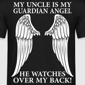 My Uncle Is My Guardian Angel T-Shirts - Men's T-Shirt