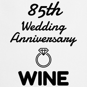 85 Wine - Birthday Wedding - Marriage - Love  Aprons - Cooking Apron