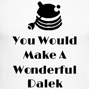 You Would Make A Wonderful Dalek Manches longues - T-shirt baseball manches longues Homme