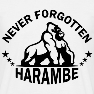 Never Forgotten Harambe T-Shirts - Men's T-Shirt