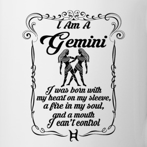 I AM A GEMINI Mugs & Drinkware - Mug