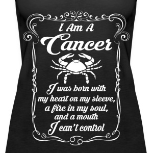 I AM A Cancer Tops - Women's Premium Tank Top