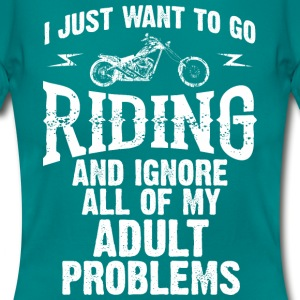 MOTOR RIDING WOMEN T-SHIRT - Women's T-Shirt