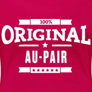 Original Au-Pair T-Shirts - Frauen Premium T-Shirt