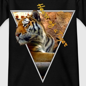 Heart of a Tiger T-Shirts - Kinder T-Shirt