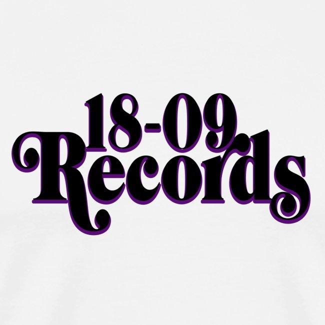 18-09 Records Men's White T-Shirt