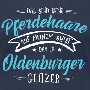 Glitzer Oldenburger T-Shirts - Frauen Premium T-Shirt