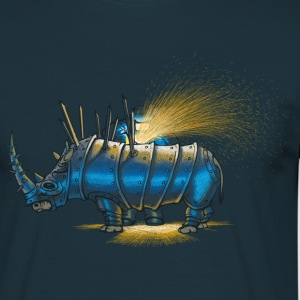 Navy Saved rhino T-Shirts - Männer T-Shirt