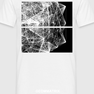 dodecahedron wire-frame - Men's T-Shirt
