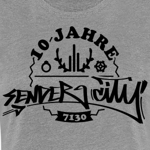 10 Years Sender City 7130 T-Shirts - Frauen Premium T-Shirt