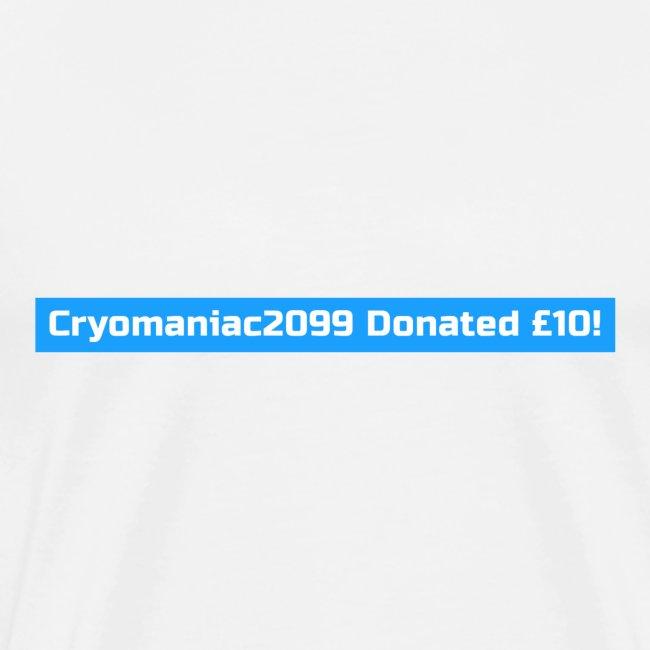 Male Cryo Donation Tee