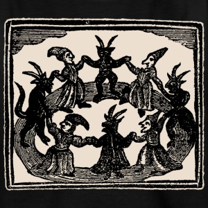 Witches Circle Dance - Teenager T-Shirt