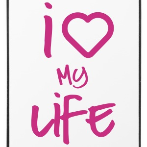 i love my life 2 Phone & Tablet Cases - iPhone 4/4s Hard Case