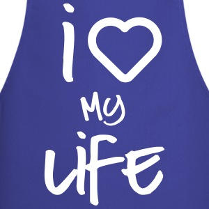 i love my life 2  Aprons - Cooking Apron