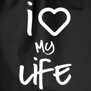 i love my life 2 Bags & Backpacks - Drawstring Bag