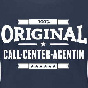 100% Call-Center-Agentin T-Shirts - Frauen Premium T-Shirt