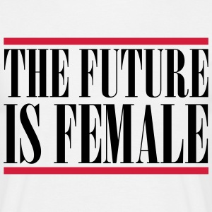 The Future is female T-shirts - Herre-T-shirt