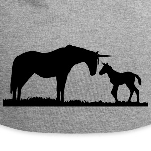 Unicorns - Unicorn mother and baby Kasketter & Huer - Jersey-Beanie