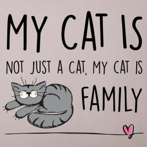 My Cat is Family Other - Sofa pillow cover 44 x 44 cm