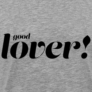 Good Lover - Herre premium T-shirt