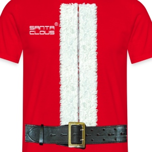 santa claus - T-skjorte for menn