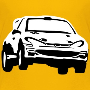 Rally car, race car Tee shirts - T-shirt Premium Ado