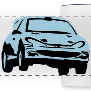 Rally car, race car Tazze & Accessori - Tazza con vista