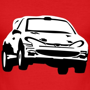 Rally car, race car T-shirts - slim fit T-shirt