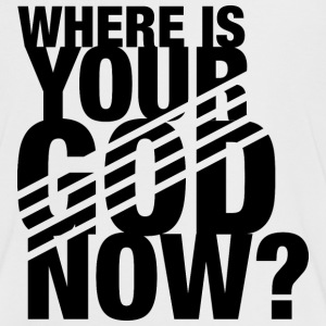 Where is your GOD now? - Frauen Kontrast-T-Shirt
