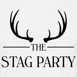 The stag party - Männer T-Shirt