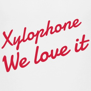 Xylophone - Xylophon - Music - Musik - Musique Shirts - Teenage Premium T-Shirt