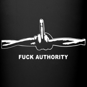 Fuck Authority (Barbwire) - Tasse einfarbig