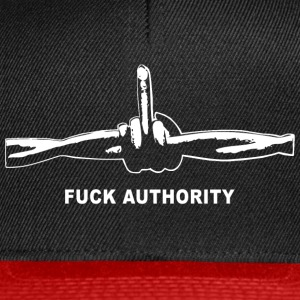 Fuck Authority (Barbwire) - Snapback Cap