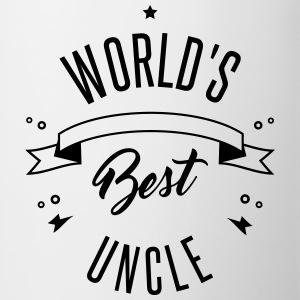 WORLD'S BEST UNCLE Krus & tilbehør - Kop/krus