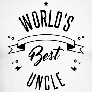 WORLD'S BEST UNCLE Long sleeve shirts - Men's Long Sleeve Baseball T-Shirt