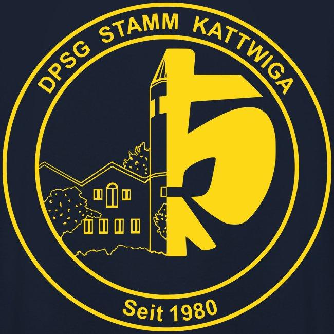 DPSG Kattwiga Kapuzenpullover Männer/Frauen (Nur DPSG Lilie) Goldgelb